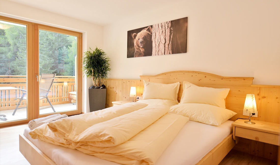 Bilokal Schlafzimmer
