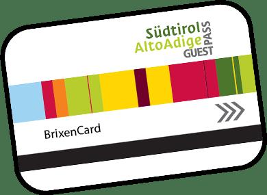 Die BrixenCard: Kostenlos für Hotel Torgglerhof Gäste!