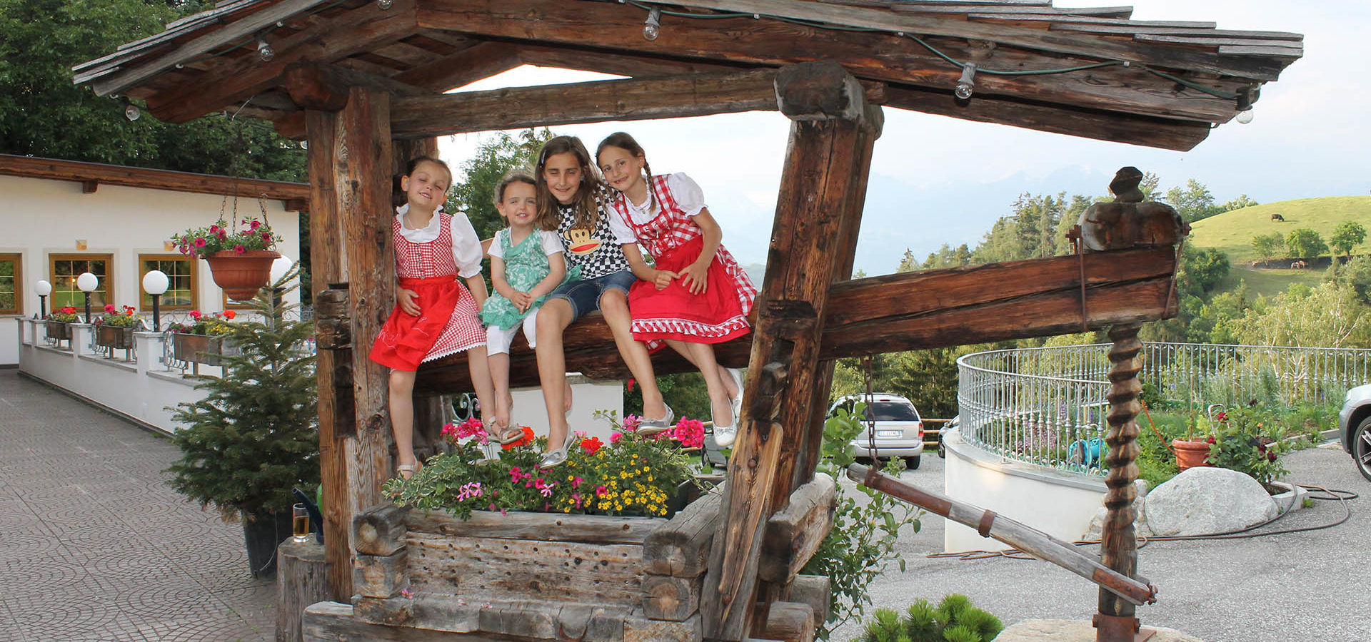 Ihr Kinderhotel in Südtirol mit tausend Spielmöglichkeiten
