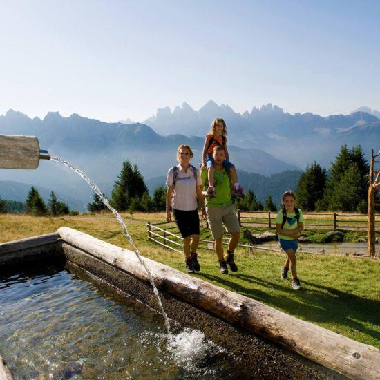 Famiglia escursioni dolomiti