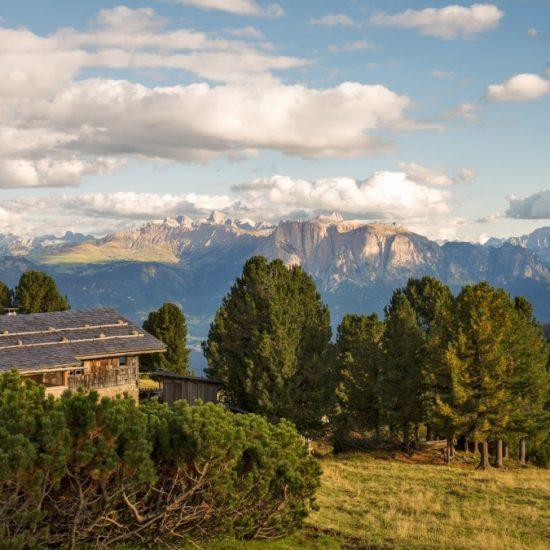 Ausblick Berge Natur Brixen