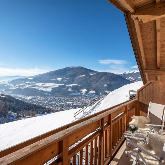 Winter Ausblick Brixen