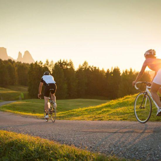 Mountainbike Dolomiten Plose