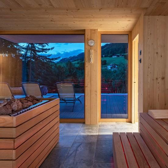 Sauna die ideale Ferien-Regeneration