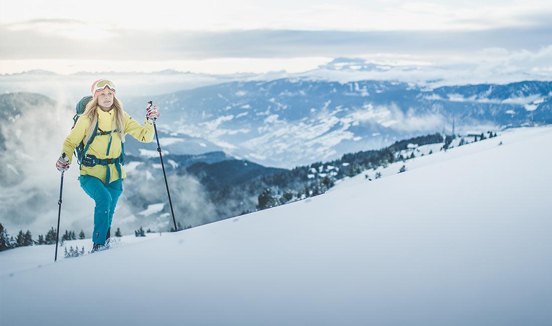 Hotel di sci nelle Dolomiti - Escursione invernale
