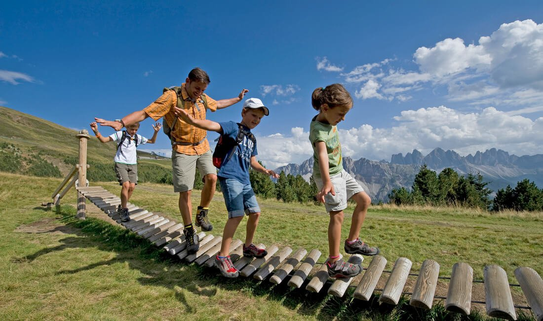 Summer holiday Plose Dolomites