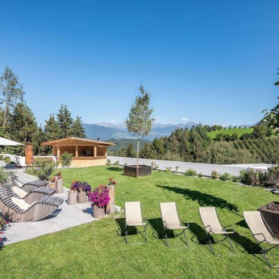 Terrazze e giardino Torgglerhof Bressanone